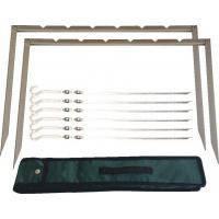 Мангал-рамка, на 6 шампуров в комплекте, чехол 44х36 см (73-552) шт.
