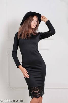 Жіноче чорне вечірнє плаття Mias