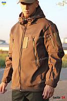 Куртка тактическая Gore-tex Hardshell Олива