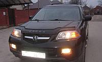 Дефлектор капота (мухобойка) Acura MDX 2001–2006, на крепежах
