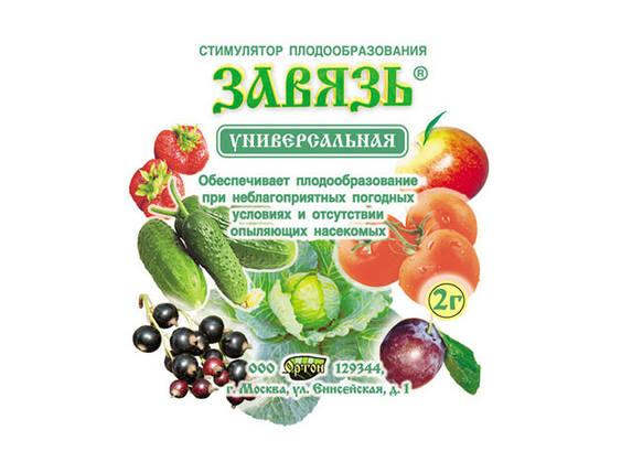 Стимулятор плодообразования Завязь 2 г — повышает урожайность, стимулирует образование завязей, фото 2