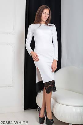 Класичне біле плаття-міді Ornella (XS-XXL)