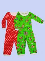 Детская детская утепленная пижама