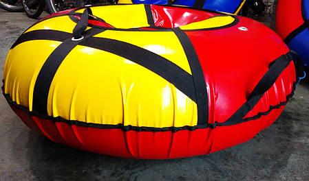 Надувные санки Тюбинг, цвет красный, фото 2