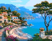 Картина по номерам Райский уголок