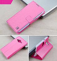 Чехол Samsung G360 / G361 / Galaxy Core Prime книжка Flower Ultrathin розовый