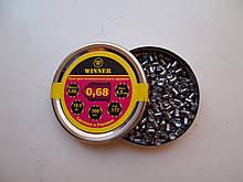 Пули 4,5 мм Winner 0,68 г остр. (300 шт.)