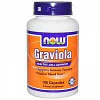 Гравиола, Now Foods, Graviola (100 caps)