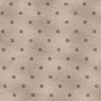 Ткань для вышивания  Murano Lugana Petit Point 32 (ширина 140 см) бежевый в горошек цвета хаки