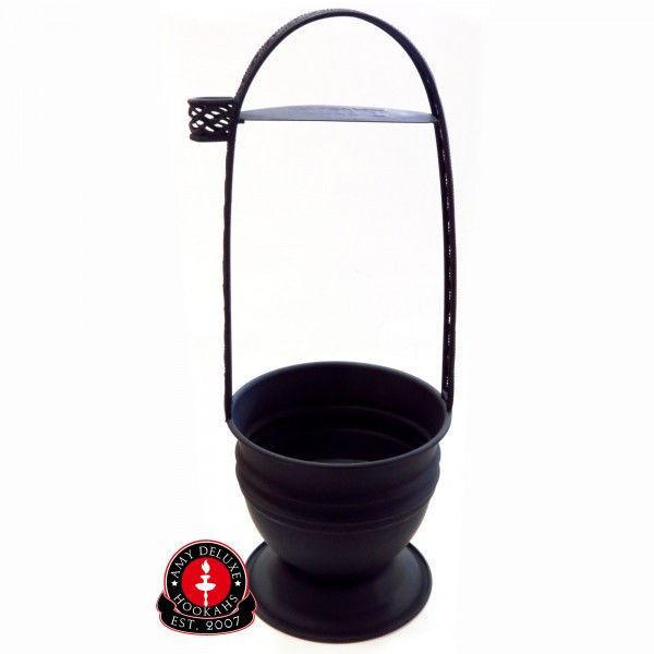 Корзина для угля Amy Deluxe XXL (черная)