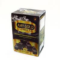 Уголь кокосовый для кальяна AMY Gold Coal