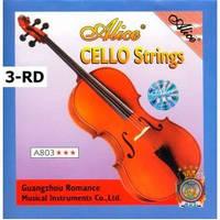 Струна для виолончели Alice A803-3