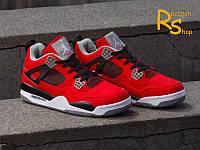 Женские кроссовки Nike Air Jordan Retro 4 Cavs red