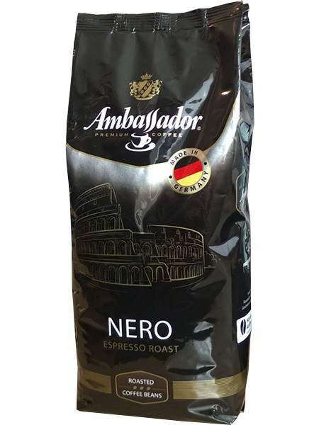"""Кофе """"Ambassador"""" Nero, 1 кг зерно"""