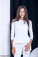 Жіноча блузка-туніка Harmony (17045-WHITE)