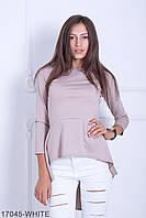Жіноча блузка-туніка Harmony (17045-BEIGE)