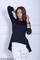 Жіноча блузка-туніка Harmony (17045-BLACK)