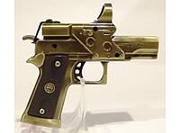 Зажигалка - пистолет.