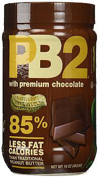 Арахисовое масло с шоколадом PB2 сухое (порошок) обезжиренное