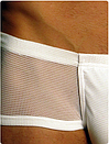 Чоловічі труси сітка Doreanse 1584 білі, фото 4
