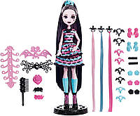 Кукла Дракулаура с набором для создания причесок Monster High Girls Party Hair Draculaura
