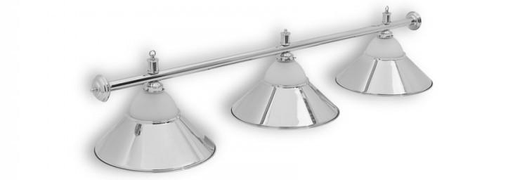 Светильники бильярдные Classic Silver 4 плафона