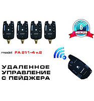 Набор сигнализаторов с пейджером FA211-4 v2