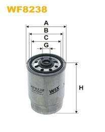 Фильтр топливный WIX WF8238