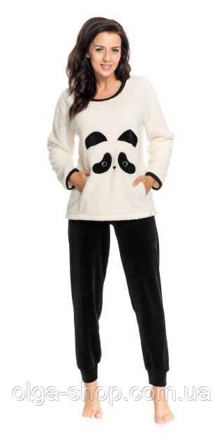 Пижама женская теплая зимняя плюшевая Dobra Nocka 9160
