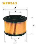 Фильтр топливный WIX WF8343