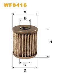 Фильтр топливный WIX WF8416