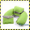 Дорожня надувна Подушка для подорожей з підголовником Silenta (green) + чохол!