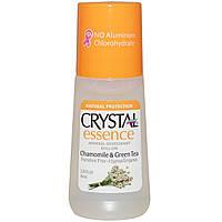 Crystal Essence Deodorant Chamomile&Green Tea Roll-on - Роликовый дезодорант (ромашка и зеленый чай), 66 мл