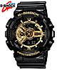 Водонепроницаемы Часы Casio G-Shock GA 110 gold/золото, спортивные, мужские и женские, копия