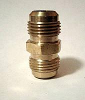 """Соединение для трубы кондиционера 3/8""""×3/8"""""""