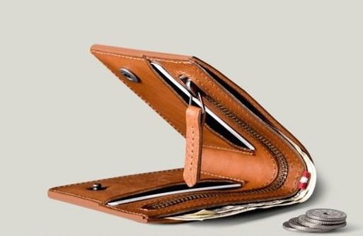 """Чоловічий гаманець """"Man"""" ручної роботи"""