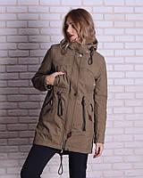 Женская демисезонная куртка-парка