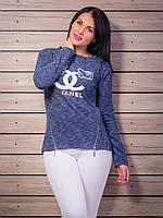 Стильный свитер шанель