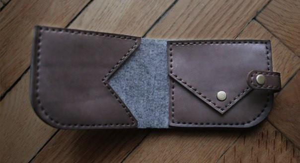 """Чоловічий гаманець """"Flag"""" ручної роботи"""