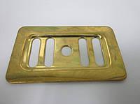 Сеточка прямоугольная на перелив для кухонной мойки (золото)