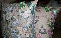 Подушка ЭКОПУХ  30% пух, 70 перо  70х70 см.