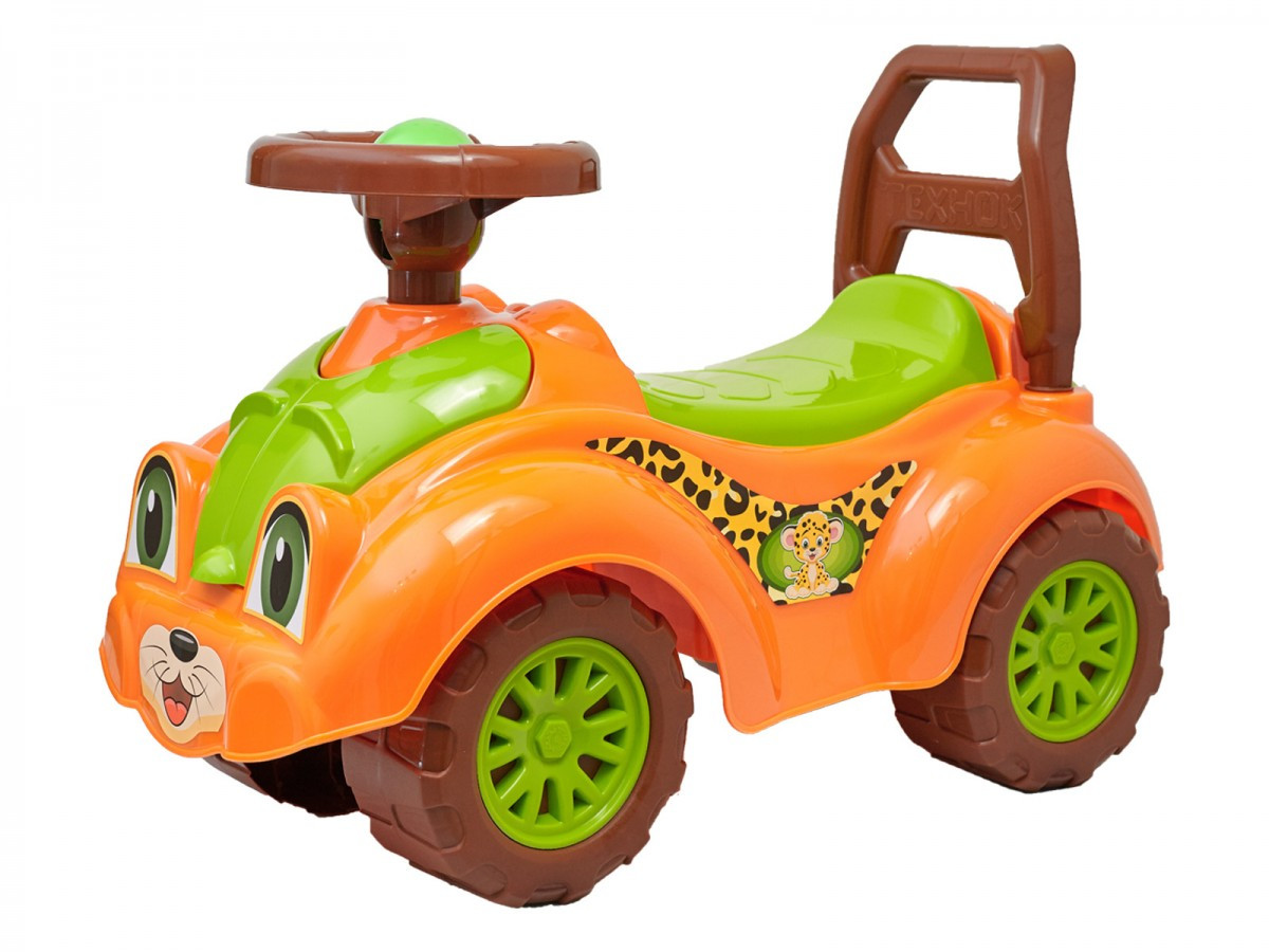 Машинка толокар каталка для прогулок Технок 3268