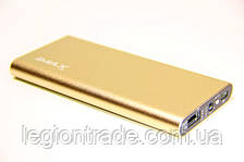 Lithium Polymer Power Bank iMAX 6800 mAh iM-P068 gold
