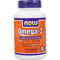 Рыбий жир, Omega-3 (100 softgels)