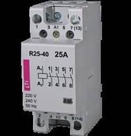 Контактор 25A ETI R 25-40