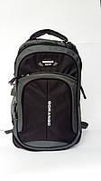 Городской рюкзак черный 27L