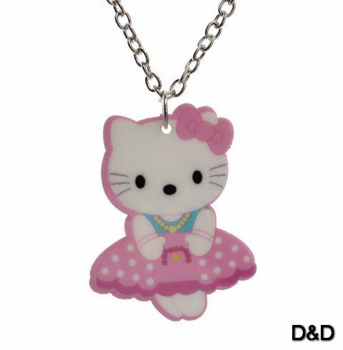 Кулон Hello Kitty