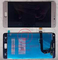 Lenovo Vibe P1 дисплей в зборі з тачскріном модуль золотий