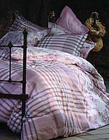 Постельное белье Karaca Home Merlin розовое евро