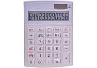 Калькулятор настольный Optima 12 разрядов, размер 146 * 105 * 26 мм, белый